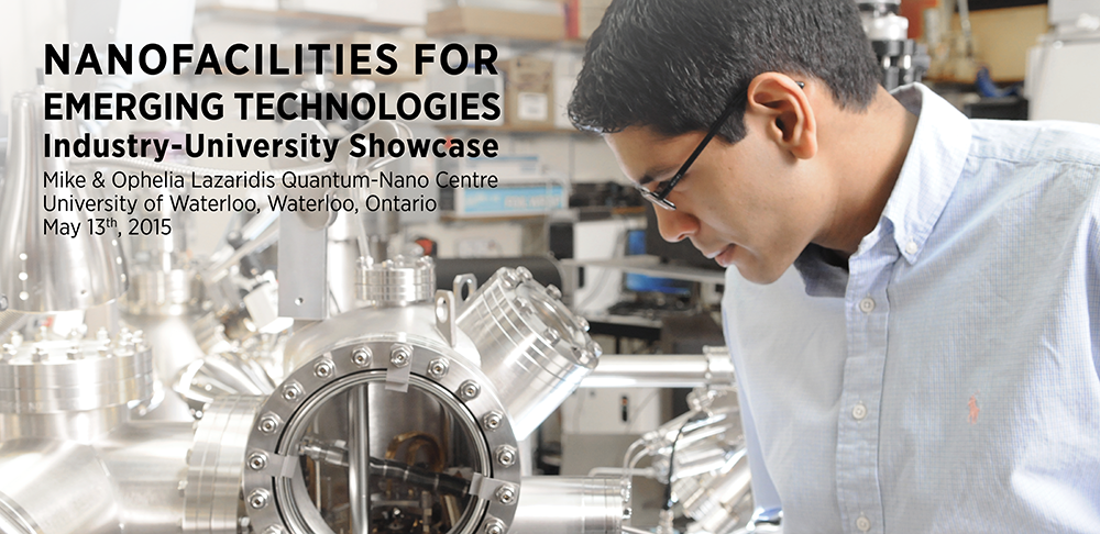 Banner for NanoOntario Industry-University Showcase